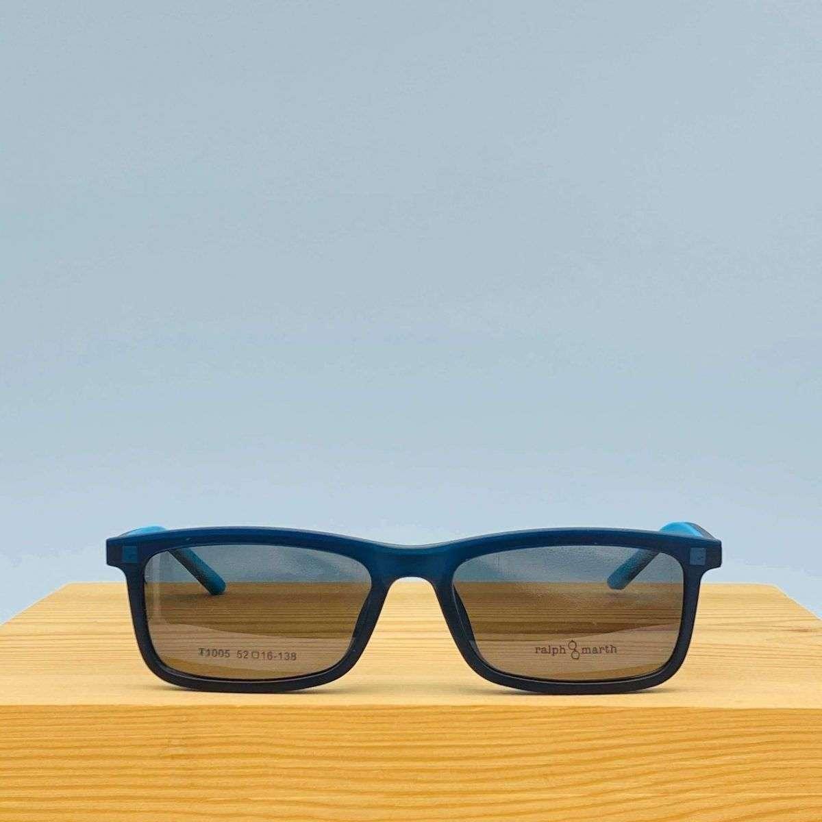 GAFAS CLIP-ON BRUNO BLUE 1